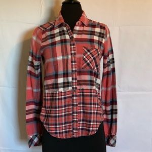 💛New L💛 Abercrombie & Fitch Flannel Shirt